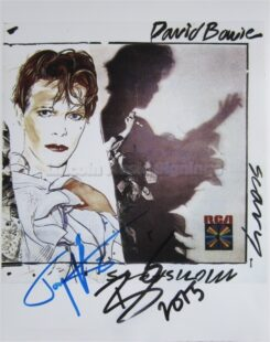 David Bowie Signed Photo