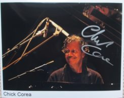 Chick Corea Signed Photo