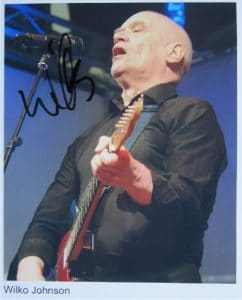 Wilko Johnson Signed Photo