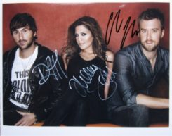 Lady Antebellum Signed Photo