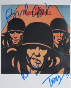 The Professionals Signed Photo