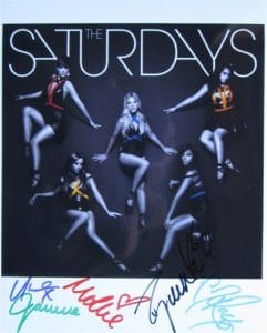 The Saturdays Signed Photos