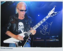 Michael Schenker Signed Photo