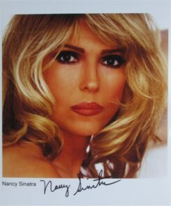 Nancy Sinatra Signed Photo