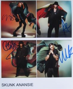 Skunk Anansie Signed Photo