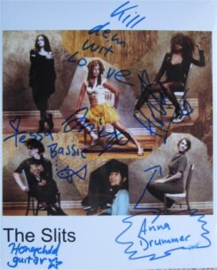 The Slits Signed Photo