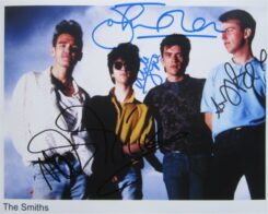 Smiths Signed Photo