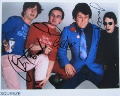 Squeeze Signed Photo