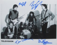 Television Signed Photo