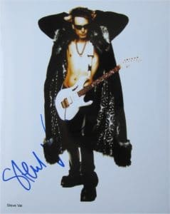 Stevie Vai Signed Photo
