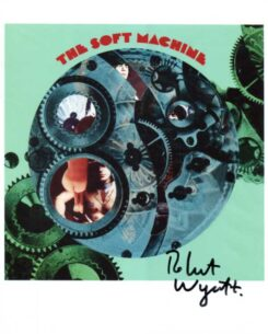 Soft Machine Signed Photo