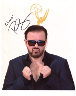 Ricky Gervais Signed Photo