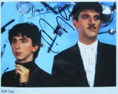 Soft Cell Signed Photo