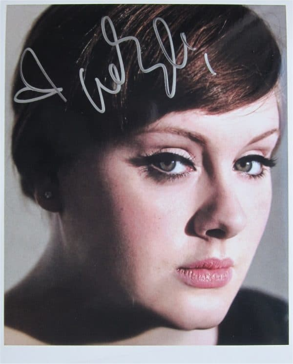 Adele Signed Photo