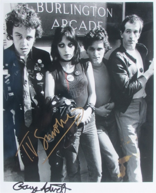 Adverts Signed Photo