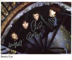 Beady Eye Signed Photo