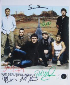 Beautiful South Signed Photo