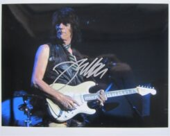 Jeff Beck Signed Photo