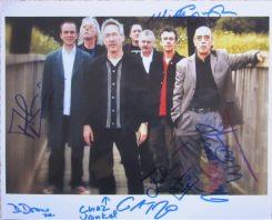 Blockheads Signed Photo