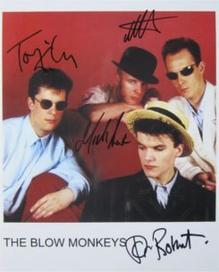 Blow Monkeys Signed Photo