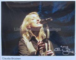 Claudia Brücken Signed Photo