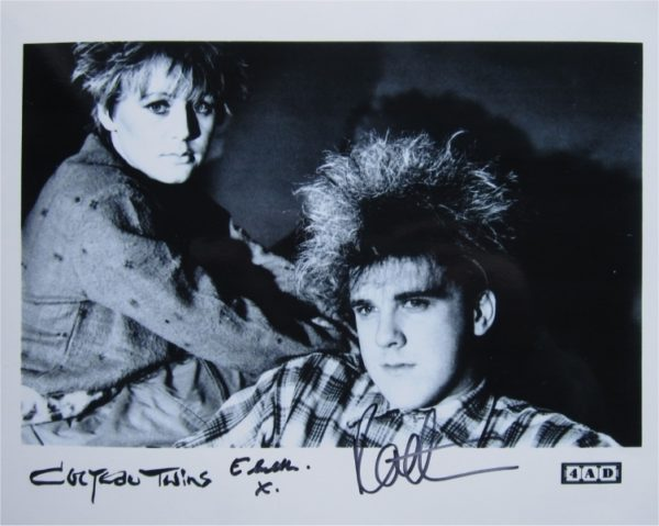 Cocteau Twins Signed Photo