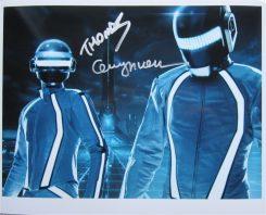 Daft Punk Signed Photo