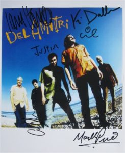 Del Amitri Signed Photo