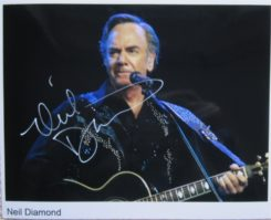 Neil Diamond Signed Photo