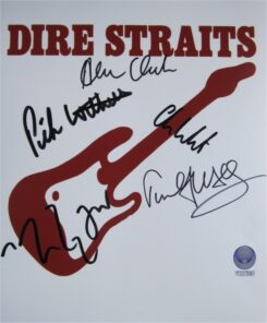 Dire Straits Signed Photo