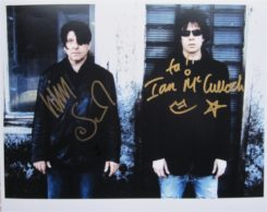Echo and the Bunnymen Signed Photo