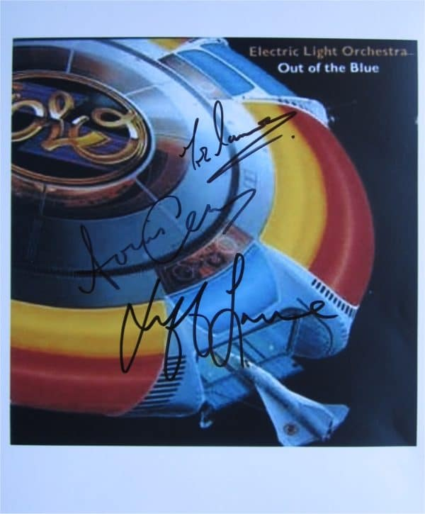 Electric Light Orchestra Signed Photo