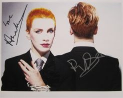 The Eurythmics Signed Photo