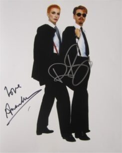 Eurythmics Signed Photo