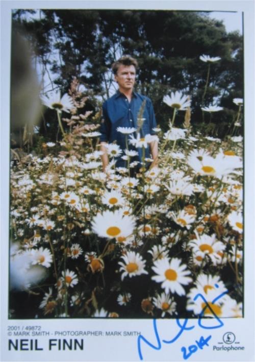 Neil Finn Signed Photo