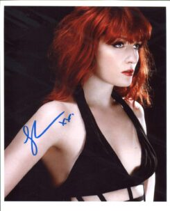 Florence Welch Signed Photo
