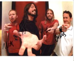 Foo Fighters Signed Photo