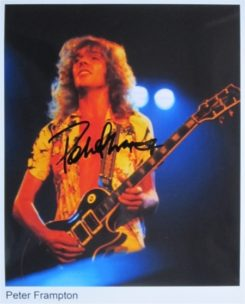 Peter Frampton Signed Photo