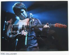 Noel Gallagher Signed Photo