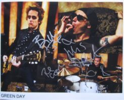 Green Day Signed Photo
