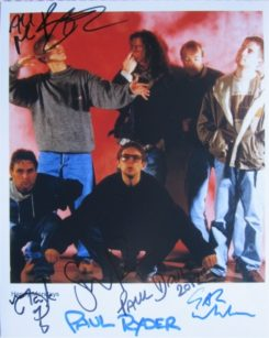Happy Mondays Signed Photo