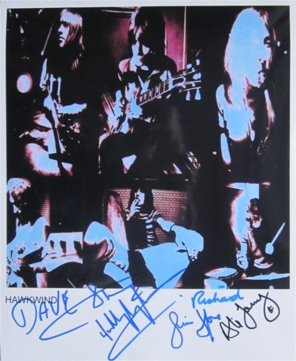 Hawkwind Signed Photo
