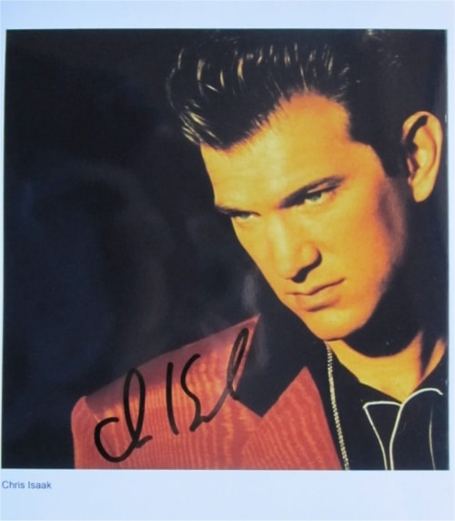 Chris Isaak Signed Photo