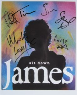 James Signed Photo