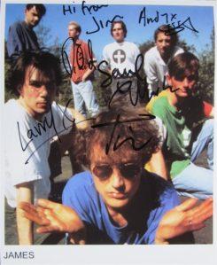 James Signed Photo