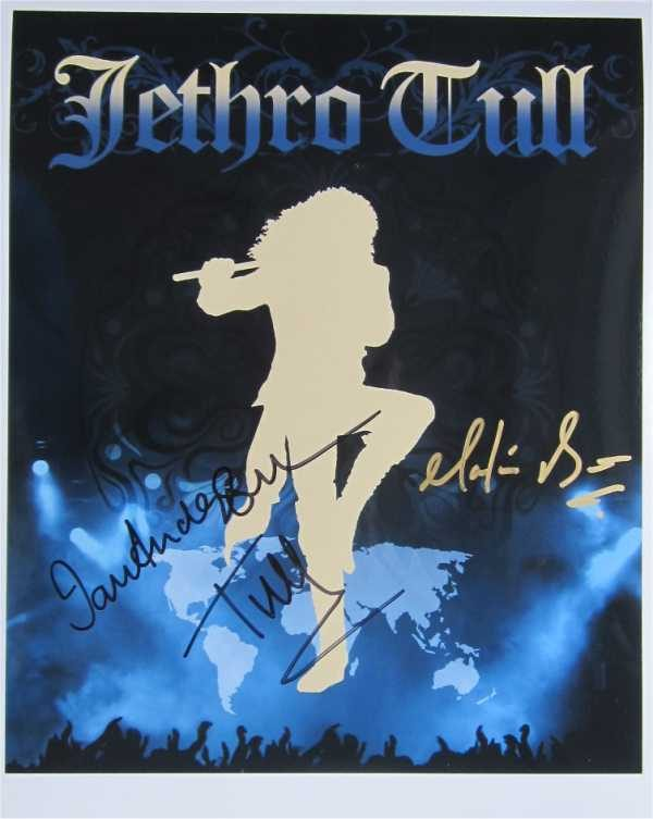 Jethro Tull Signed Photo
