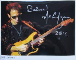 Nils Lofgren Signed Photo