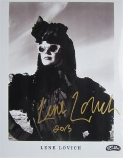 Lena Lovich Signed Photo