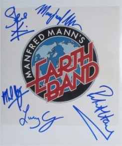 Manfred Mann Signed Photo