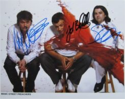 Manic Street Preachers Signed Photo